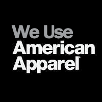 We Use American Apparel